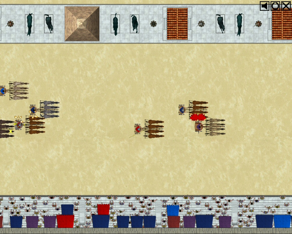 centurion defender of rome how to win chariot race
